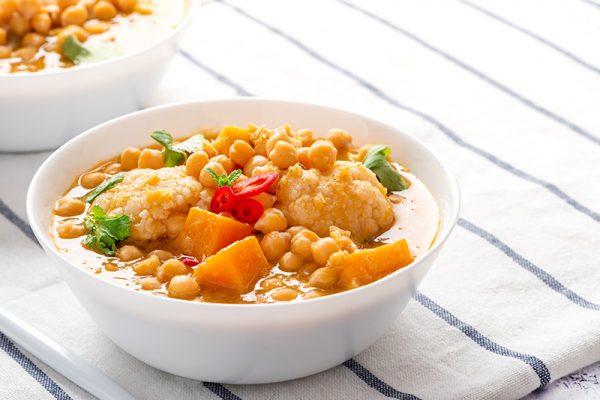 Subji Indian vegetarian in a bowl