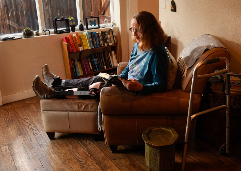 Fran Berger needed inpatient rehabilitation in Broomfield after a bad fall.