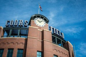 A photo of Coors Field, one symbol of appreciating our American way of life.