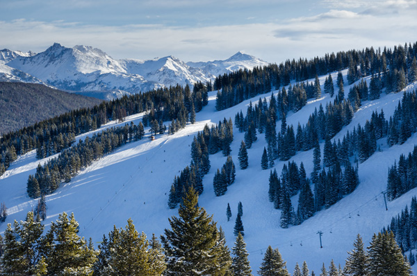 The coronavirus outbreak has hit Colorado's ski counties hard. Vail is among the ski areas that have been shut down.