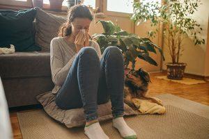 Home sick with coronavirus