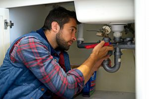 People who work in other people's homes, like plumbers, should be wary of sick people.