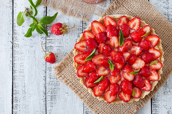 For a favorite Mother's Day recipes, try this simple strawberry pie