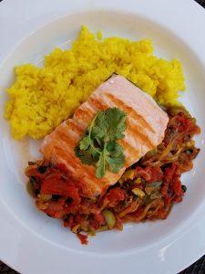salmon veracruz