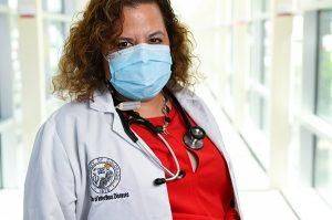 Headshot of Dr. Michelle Barron.
