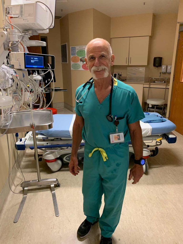 Dr. Larry Cohen, who is among only a few certified Lifestyle Medicine doctors in Colorado.