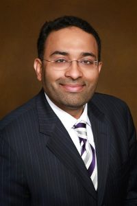 Headshot of Dr. Muhammad Aftab who oversaw ECMO lung treatment for COVID-19