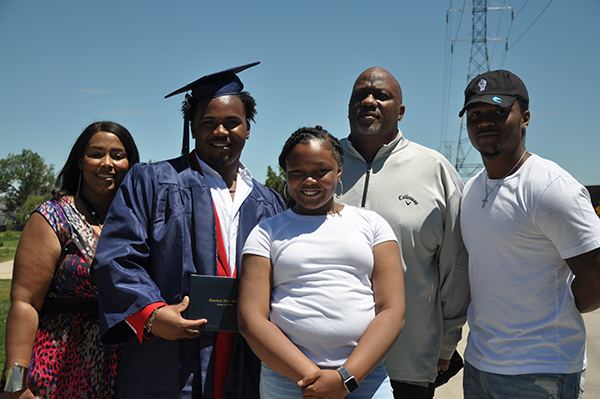 ECMO, a lung treatment for COVID made it possible for Robert Carver to celebrate his son's high school graduation.