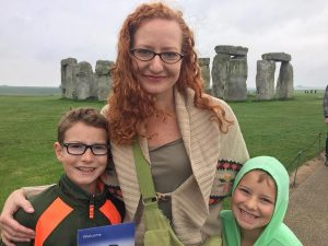 Elizabeth Wethington, who is part of a rheumatoid arthritis clinical trial, with son James and daughter Margarita. Photo courtesy of Elizabeth Wethington.