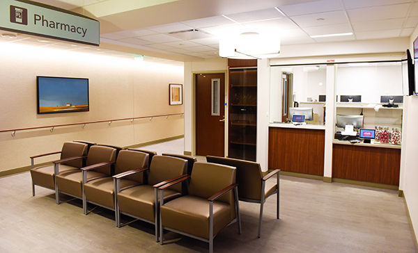 new medical center Cherry Creek - features a pharmacy that's open to the public