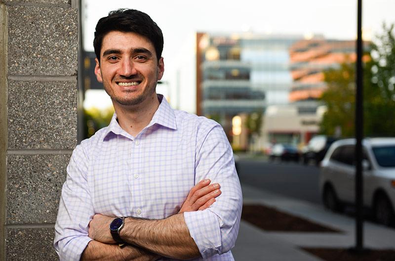 Dr. Rebin Kader, who is an allergy specialist in central Denver.