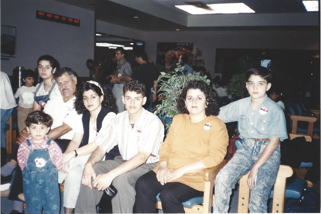 allergy specialist center Denver. Members of the Kader family when they arrived as refugees in Guam