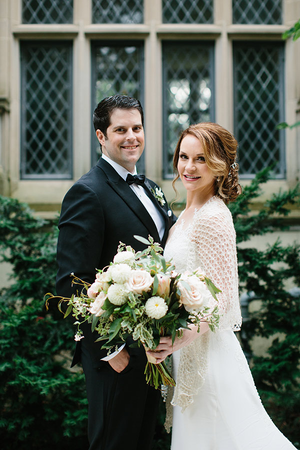 Plastic surgery expert Cherry Creek - Dr. Rebekah Zaluzec on her wedding day with her husband, Ben Metcalfe