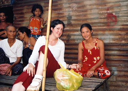new medical center Cherry Creek - Dr. Seligman visits a home in Cambodia