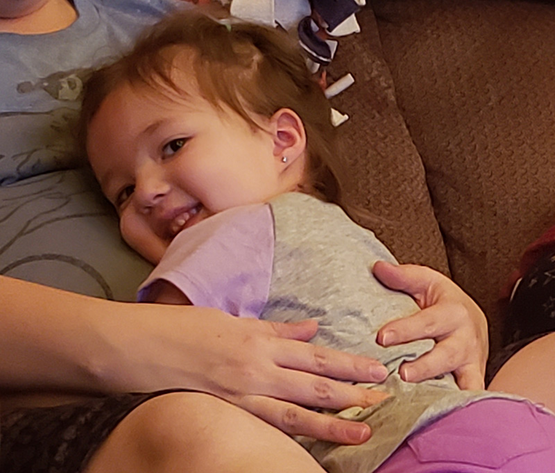 Abby Zamora has loved having nurse midwife-assisted births.