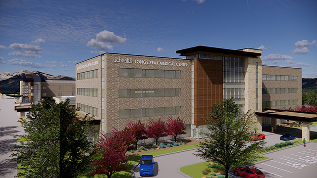 Rendering of Longs Peak Medical Center