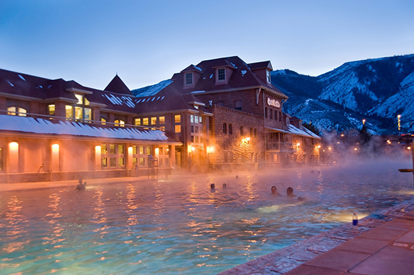 Glenwood Springs is one of Colorado's oldest hot springs.