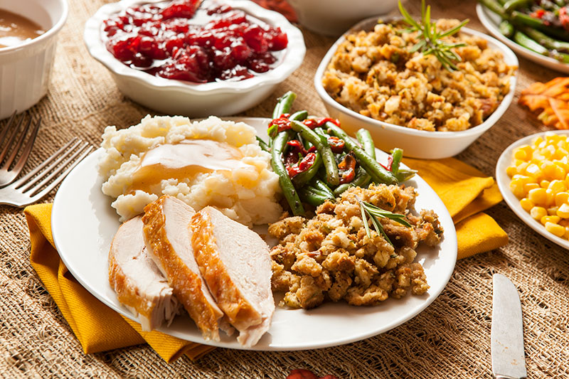 thanksgiving basics help create the perfect thanksgiving meal like this photo shows.