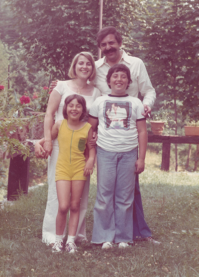 Richard Zane is confident that COVID-19 vaccines are safe. Here, he poses as a child with his sister, Daniela and his parents Gilda and Bob Zane. Photo courtesy of the Zane family.
