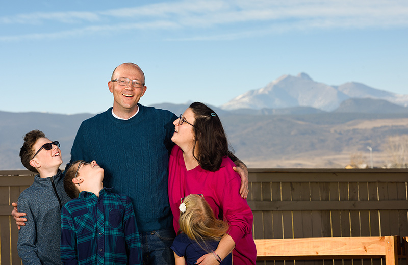 DBS for Parkinson's can be a big help. DBS is not a cure for Parkinson's, but it has been a big help to Mike Whitt, who poses here with his wife and three kids at their home near Longmont.