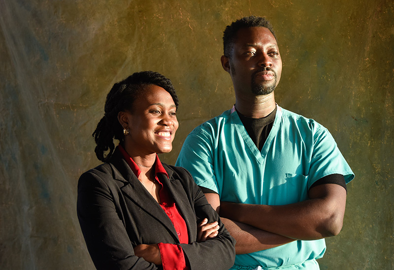 Some black people are hesitant to get COVID-19 vaccines. Dr. Cynthia Hazel and Dr. Kweku Hazel are on a mission to help.