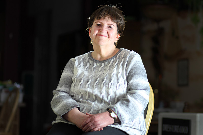 Deb Hoffman talks about her life after COVID-19.