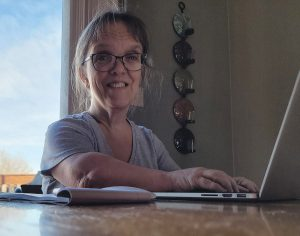 Barb Kotzian was born with achondroplasia, commonly called dwarfism, on her computer looking for a spine surgery expert to help her.