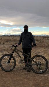 Voss is bike riding and staying active without ankle pain after a surgery he said was carefully planned, with a closely monitored recovery period. Photo courtesy of Randy Voss.