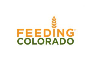 A logo of Feeding Colorado, which helps with food insecurity in Colorado.