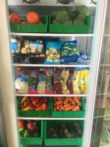 Fresh fruit and vegetables, a FMC Food Pantry mainstay, are often otherwise lacking in the diets those dealing with food insecurity in Colorado.