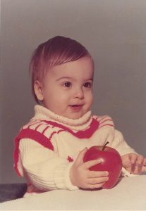 Brian Rodgers as a toddler.