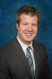 Dr. Ryan Lanning radiation oncologist that helped Anna her through a diagnosis of tongue cancer.