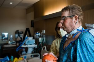 Bryan was Colorado's first COVID-19 patient to receive a double lung transplant.