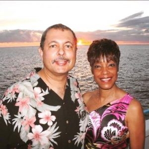 Robert Plick with his wife, Leatra, who helped him through his health care ordeals. Photo courtesy of Robert Plick.