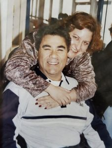 Ricardo and Marisela Téllez before they died from COVID-19.