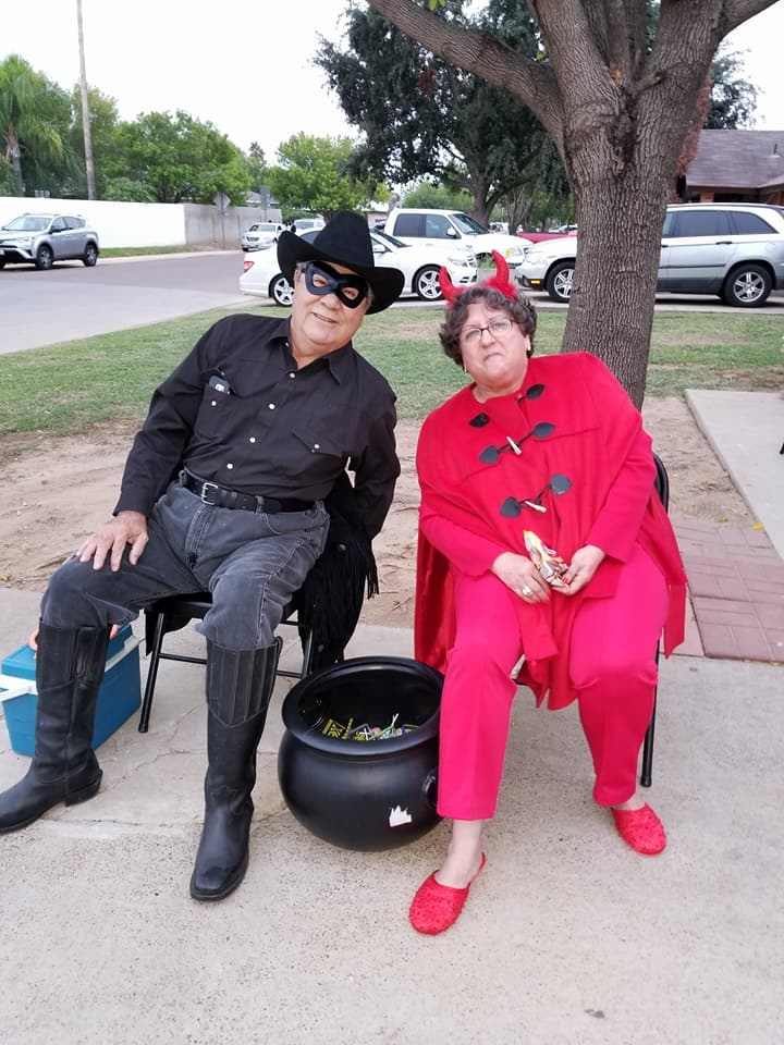Losing family to COVID-19 is devastating. Ricardo and Marisela loved dressing up and celebrating holidays.