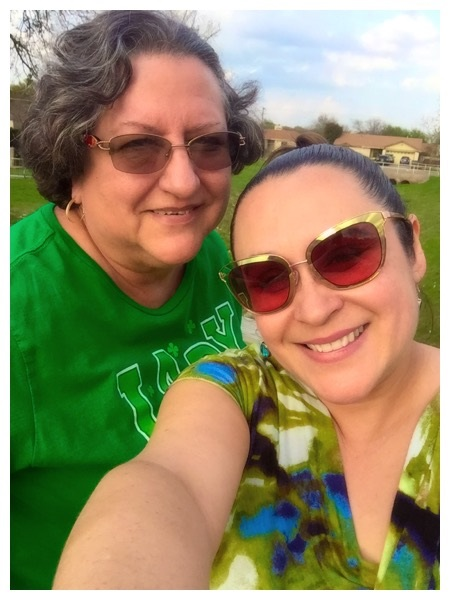 Losing family to COVID has been devastating. Here, Mónica Téllez-Arsté poses in a selfie with her mom, Marisela Téllez, who died of COVID-19 in September.