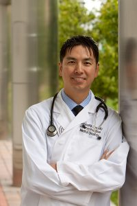 Dr. Chris Lieu, one of the doctors who teamed up to help Cathy Pane beat a rare small bowel cancer. Photo courtesy of Dr. Chris Lieu.