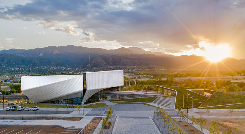 US Olympic and Paralympic Museum in Colorado Springs.