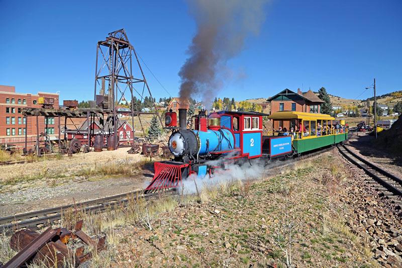 Cripple Creek & Victor Narrow Gauge Railroad is a great scenic train ride in Colorado.