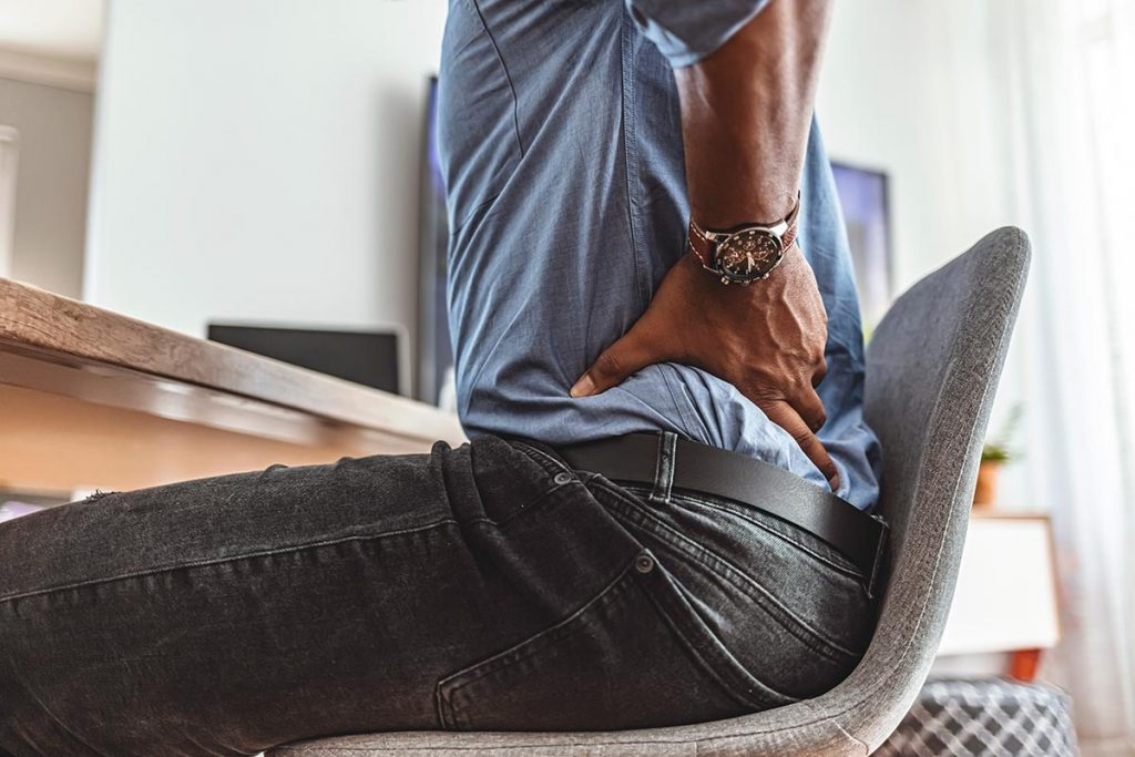 Chronic low back pain that can't be treated with surgery is a common problem. Courtesy Getty Images.