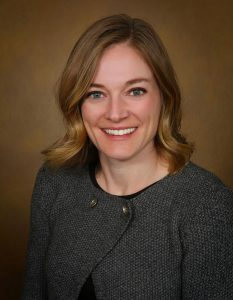 Biostatistician Katie Colborn leads a five-year project at UCHealth that uses the electronic health record to pinpoint surgical complications. Photo by UCHealth.