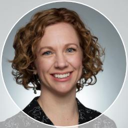 A photo of Sarah Funk, clinical dietitian