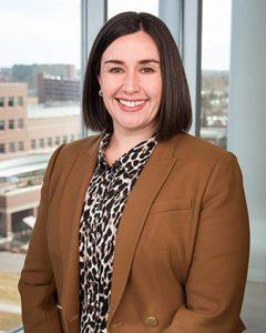 Dr. Samantha Holden, a UCHealth neurologist, helps her patients find geriatric mental health resources.