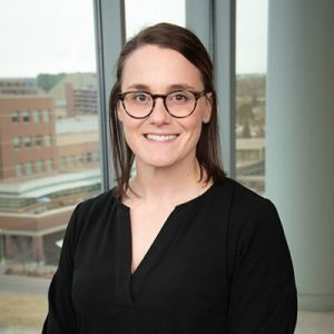 Dr. Lyndsey DuBose is the principal investigator of a pilot study at CU studying possible links between IVF and high blood pressure and other cardiovascular problems. Photo courtesy of Lyndsey DuBose.