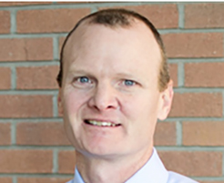 Dr. Cory Christiansen is principal investigator for the SPARX3 trial at the University of Colorado. Photo by University of Colorado.